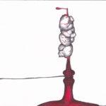 Illustration Le tintamarre des gastéropodes Mathilde Collard