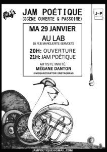 Jam Poétique Janvier Mathilde Collard