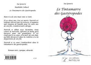 COUVERTURE le tintamarre des gastéropodes Mathilde Collard