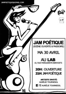 Jam Poétique Avril Mathilde Collard