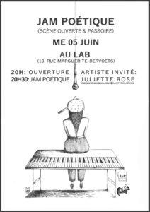 Jam Poétique Juin Mathilde Collard